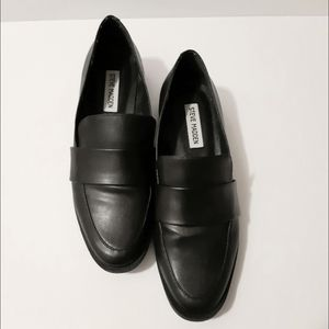 Steve Madden Black Loafers